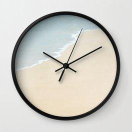 Kauai Beach at Kalapaki Bay in Lihue Wall Clock