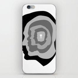 Star Trek Head Silhouettes iPhone Skin