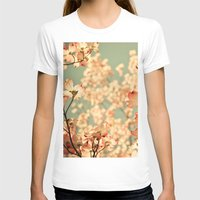 beauty T-shirts featuring Pink by Olivia Joy St.Claire - Modern Nature / T
