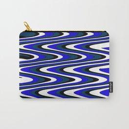 Monochromatic blue slur Carry-All Pouch