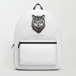 Who's your granny? (b&w) Backpack
