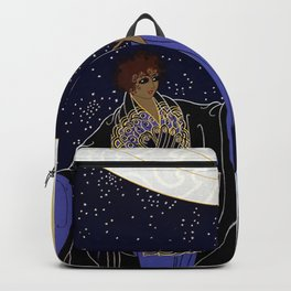 "Art Deco Design ""Night Dream"" Backpack"