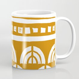 Tribal Rainbows Coffee Mug