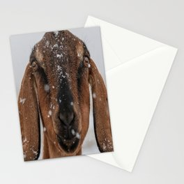 Braving the Snow Stationery Cards