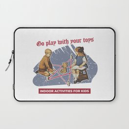 Vintage Poster Parody Laptop Sleeve