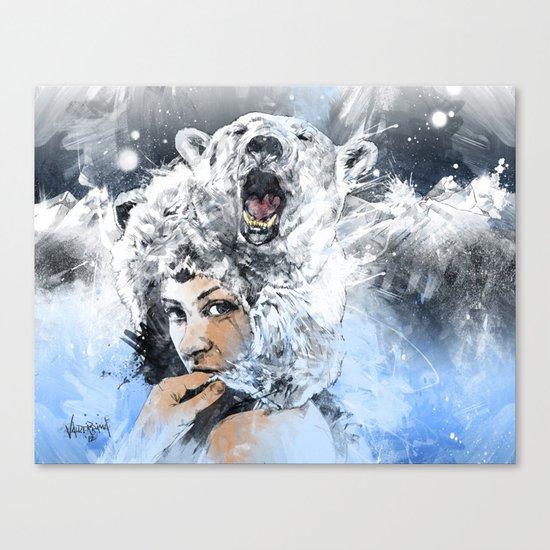 Arctic Tears Canvas Print