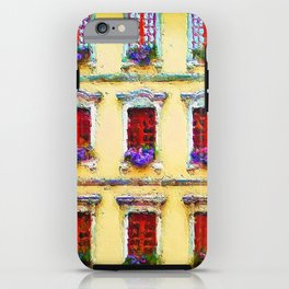 Windows of Annecy, France iPhone Case