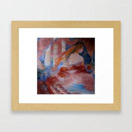 vanishing point Framed Art Print