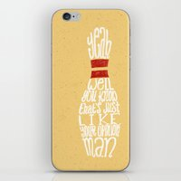 the big lebowski iPhone & iPod Skins featuring The Big Lebowski by Drew Wallace