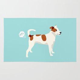 Dog Fart -Terrier Dogs, dog, dog print, dog fart, Rug