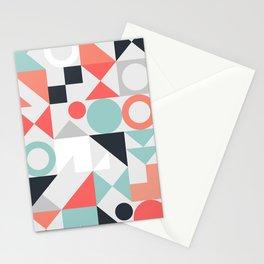 Modern Geometric 28 Stationery Cards