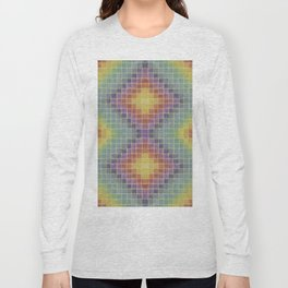 Chromatic Patchwork  Long Sleeve T-shirt