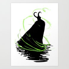 God of Mischief Art Print