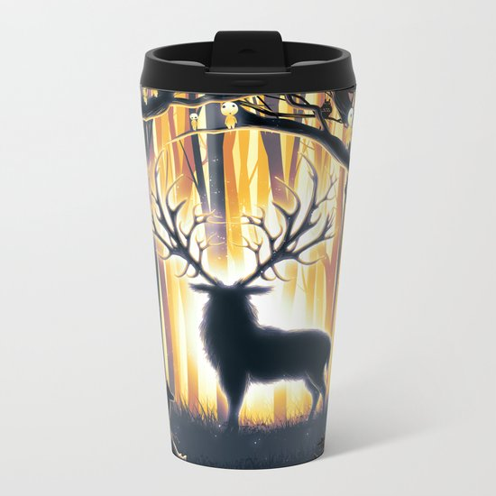 Master of the Forest Metal Travel Mug