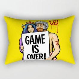 Hippies n' Goblins Rectangular Pillow
