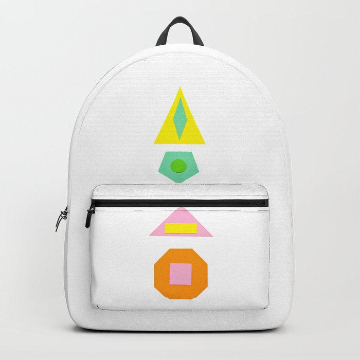 Shapes Within Shapes Backpack