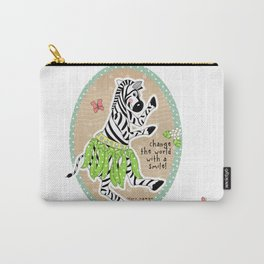 Change the World with a Smile Carry-All Pouch
