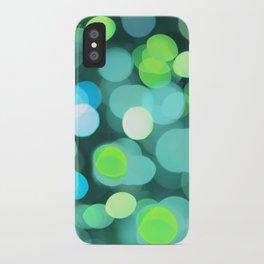 Cyan Light iPhone Case