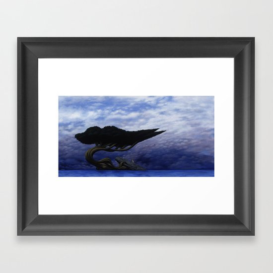 Angles of Transference Framed Art Print