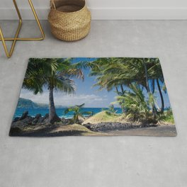 Welcome to Paradise Rug
