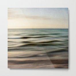 sea square I Metal Print