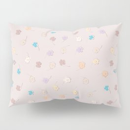 Cute small flowers pattern Pillow Sham