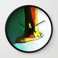 fifth harmony Wall Clocks featuring fifth  by ebadenlasar