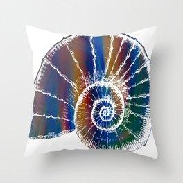 The Nautilus Shell Transparent 2 Throw Pillow