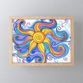 Embraced Framed Mini Art Print