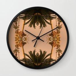 Palms2 Wall Clock