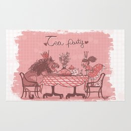 Tea Party! Rug