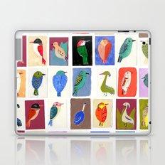 Colorful birds Laptop & iPad Skin