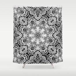 Mehndi Ethnic Style G477 Shower Curtain