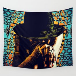 Cool hat Wall Tapestry