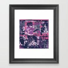Simulacrum Framed Art Print