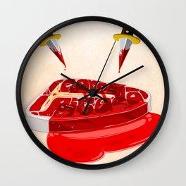 Carne Picada Wall Clock
