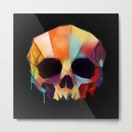 SkullColors Metal Print