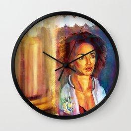 Bill and The TARDIS Wall Clock