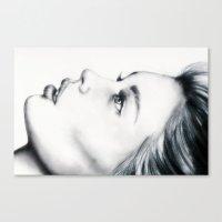 grace Canvas Prints featuring Grace by Bella Harris
