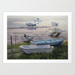 Cape Neddick Low Tide Art Print