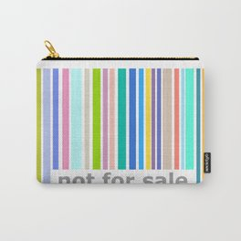 Not For Sale Barcode - Colorful Carry-All Pouch