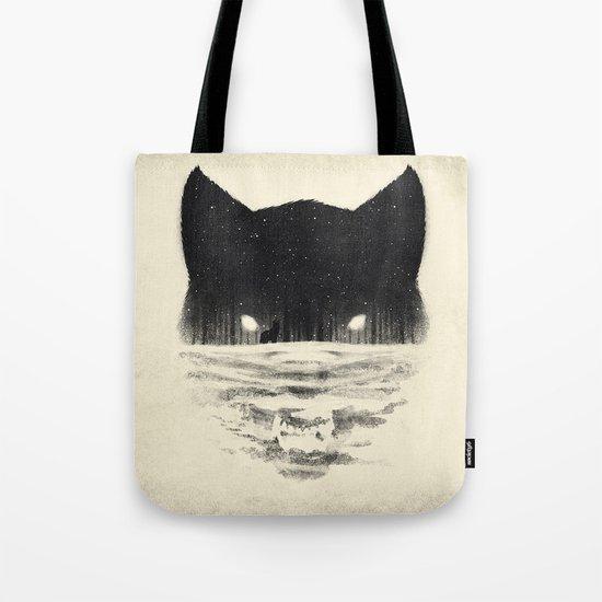 Wolfy Tote Bag