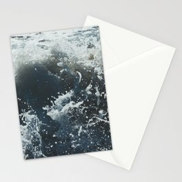 crashing waves Stationery Cards