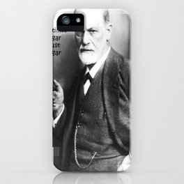 Sometimes A Cigar Is Just A Cigar iPhone Case