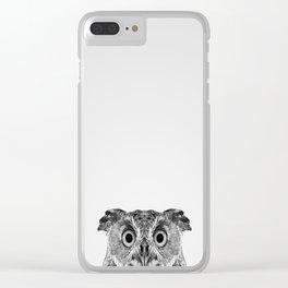 Wide Awake Clear iPhone Case