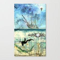 High Tide  - 4:20 Canvas Print