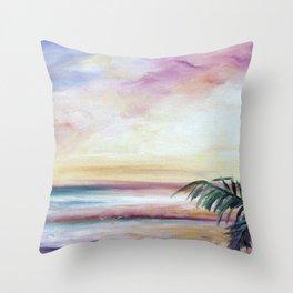 Sur La Sol Throw Pillow