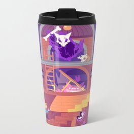 Tiny Worlds - Lavender Town Tower Metal Travel Mug