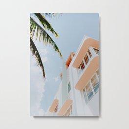 ocean drive / miami beach, florida Metal Print