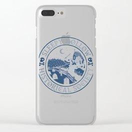 Sleepy Hollow Clear iPhone Case